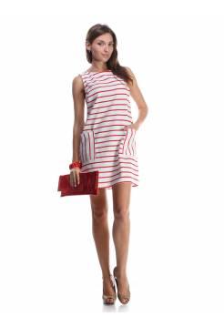 Платье Furla в полоску