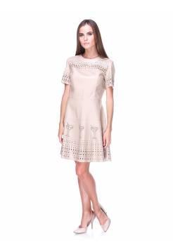 Платье Furla бежевое