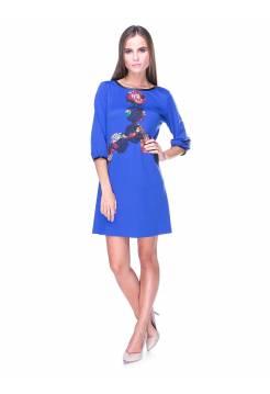 Платье Lanvin синее