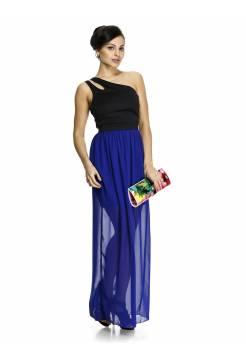Платье Lanvin двухцветное